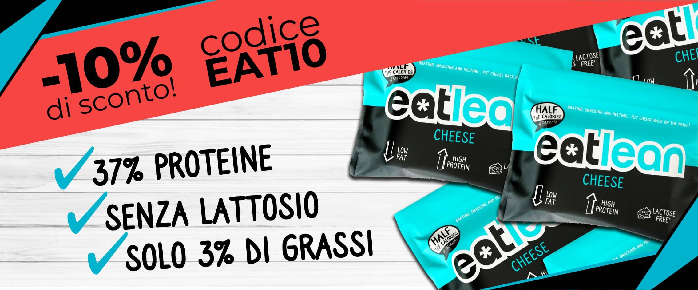 """Codice sconto """"EAT10"""" per avere un 10% di sconto sul tuo prossimo ordine!"""